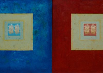 INTERNAL DIALOGUE I & II, Diptych