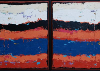 WEST SIDE BLUES, Diptych